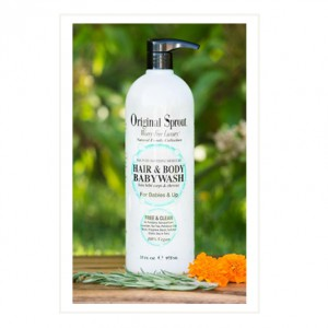 hair and body baby wash